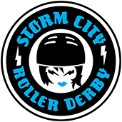 Storm City Roller Derby Logo
